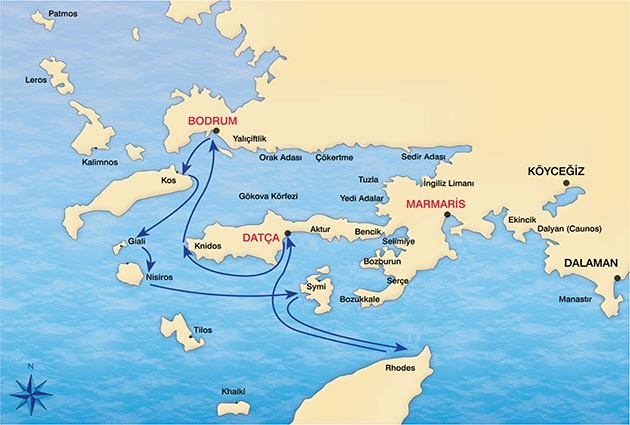 Bodrum – South- Dodecanese – Bodrum Details